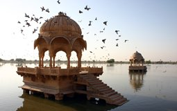 BreathtakingIndia Exclusive: Jaisalmer Things to Do | Rajasthan Things to Do - Gadsisar Lake